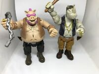 TMNT Talking Bebop & Rocksteady In VGC Tested And Working - Both Talk