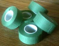 NOS 2 ROLLS GREEN  TRESSOREX CLOTH HANDLE BAR TAPE