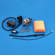 Ignition Coil Carburetor Kit For STIHL FS250 FS250R FS300 FS350 TS200 WEEDEATER