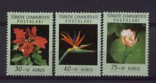 Turkey 1962 SG#1974-6 Flowers MNH Set