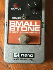 Electro-Harmonix Nano Small Stone Guitar Effect Pedal Euc
