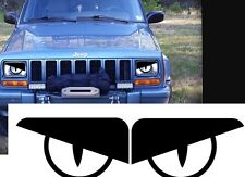 87-96 Jeep Wrangler YJ BAD BOY  Comanche Cherokee Angry Eyes Rattler Viper Decal
