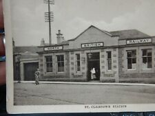 More details for  kirkcaldy   railway station  st clairtown   postcard