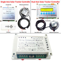 Complete Electronic Single/Dual Axis PV Solar Panel Tracking Tracker Controller