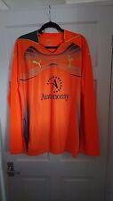 Tottenham Hotspur Spurs 2010/2011 Arancione Maglia Casa Portiere-XL