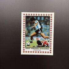 1983 Panini Fútbol 83 Maradona StarsArgentina 405 España 82 New
