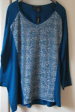 BNWT Ladies Chelsea Muse  Long Sleeved Top Size XL approx size 24