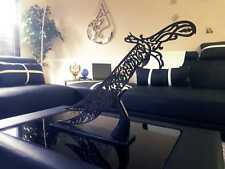 New Hazrat Ali Kalma Sword Islamic Art with Stand (HANDMADE)