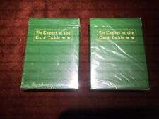 Expert at the Card Table VERSION 1 2009 playing cards 2 DECKS!! RARE! SEALED!