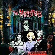 The Munsters 1960's TV Show Portrait Herman Munster Sticker Or Magnet