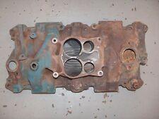 1976-82 Chevy Malibu SBC Factory OEM Cast 4 Barrel Quadrajet Intake Manifold