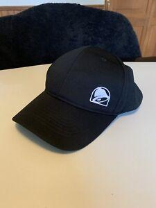 Taco Bell Fast Food Worker Employee Uniform Black Snapback Hat Cap