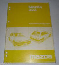 Werkstatthandbuch Mazda 323 Typ BA Schaltpläne Elektrik, Stand 07/1994