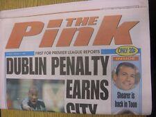 17/01/1998 Coventry Evening Telegraph The Pink: Main Headline Reads: Dublin Pena