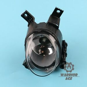 For AUDI A3 S-LINE 04-13 A4 B7 05-08 Front Lower Fog Lamp Clear Glass Lens L