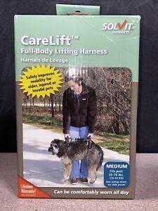 Solvit CareLift FULL BODY Medium Dog Lifting Harness 35-70 lbs Excellent