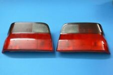 Rear Lights Black/Red for Ford Escort 5 Also Convertible (GAL) 07/90 to 12/92