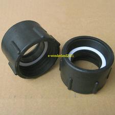1000L IBC water tank 50mm heavy duty BSP adaptor barrels valve parts M-16