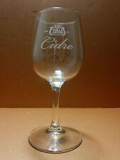 Stella Artois Cidre Stemmed Cider Glass Leuven Belgium