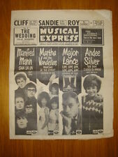 NME #927 1964 OCT 16 MANFRED MANN CLIFF RICHARD EVERLYS