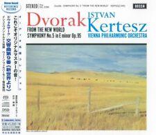 "Kertesz Dvorak ""From The New World"" SACD + CD 2 Disc Set STEREO SOUND JAPAN"
