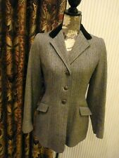 KOKO ROMANOV EQUESTRIAN STYLE WOOL JACKET WITH LOUIS VUITTON PANEL IN BACK SIZE