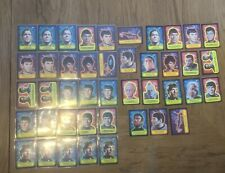 Topps 1976 Star Trek sticker lot of 43 Very High Grade Psa Worthy