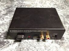 Calrad S-Video/Audio Distribution Amplifier 40-804VHS