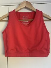 Mountain Warehouse Quick Drying Active Sports Baselayer Crop Top/Bra Pink 16