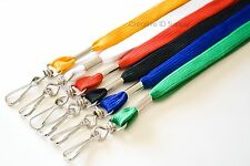 **500** LANYARDS Flat NECK Strap/Holders/ID Colors