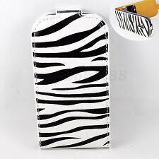 Folding Leather Skin Card Slot Cover Case For Samsung Galaxy S3 SIII Mini i8190