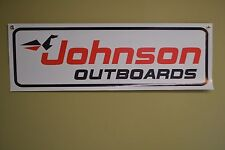 Johnson Sea Horse Outboard Banner Marina Boat Shop Mechanic Parts Motor Sign 10D