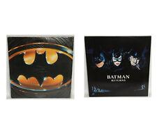 BATMAN : BATMAN THE MOVIE, BATMAN RETURNS LASERDISCS (MLFP)