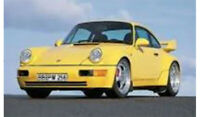 Solido 1:18 1990 Porsche 964 3.8 RS in Yellow MIB