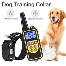 800m Electric Dog Training Collar Pet Remote Control Waterproof Rechargeable For