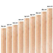 Zaunpfosten Flach Kopf 7x7 9x9 KDI Vier Kant Holz Zaun Pfosten Pfahl imprägniert