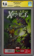 CABLE AND X-FORCE #12 - CGC 9.6 - SIGNED BY DENNIS HOPELESS - 1508222013