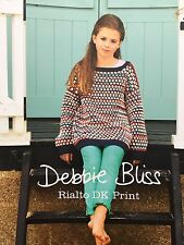 Debbie Bliss - Rialto DK Prints - Pattern Book - Department Store Return