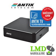 ANTIK TV BOX Slovenske a Ceske tv programy cez internet + 6 mesiacov zadarmo