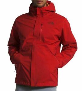 THE NORTH FACE Dryzzle Futurelight Mens M Rain/Shell Jacket/Coat Red $229 NEW