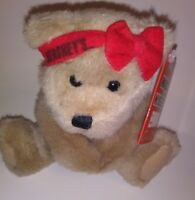"Hersheys Teddy Friends Brown Bear  NEW  7"" Plush Stuffed Animal"