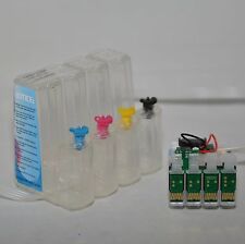 EMPTY SUBLIMATION ink system CISS for epson XP 420 320 424 WF-2630 printer T220