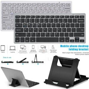 """Wireless Bluetooth Keyboard+Stand For iPad Pro 12.9"""" 11"""" 2020 7th 10.2 Air 10.5"""