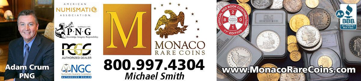 Monaco Rare Coins