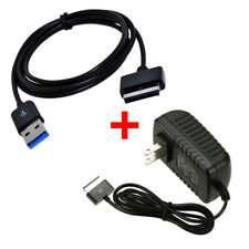 For ASUS Transformer Pad  TF101 TF201 Charger AC Adapter Power Supply +USB Cable