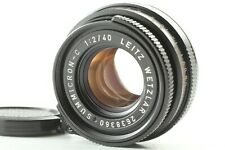 【Near Mint】 Leica Leitz Summicron-C 40mm F/2 Lens for Leica M From JAPAN #063