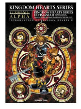 KINGDOM HEARTS II 2 SERIES MEMORIAL ULTIMANIA BOOK MANUALE MANUAL GUIDA DISNEY 1