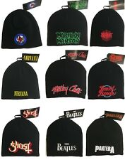 More details for metal bands, music and rock bands beanie hat