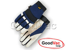 Majestic 2152TW Pigskin Leather Waterproof Thinsulate Winter Lined Gloves - Med