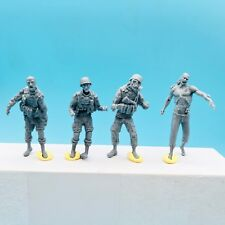LZModel F35005 1/35 Zombie Series U.S. Army Zombie (4 Resin Figures)